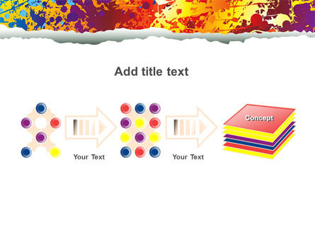 Splattered Paint PowerPoint Template Slide 9