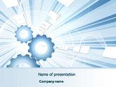Utilities/Industrial: Industrie licht PowerPoint Vorlage #07051