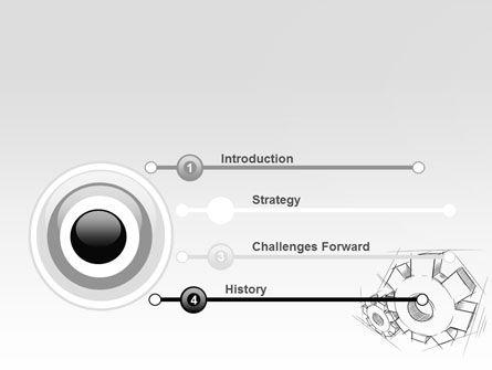 Functioning Gears PowerPoint Template, Slide 3, 07054, Utilities/Industrial — PoweredTemplate.com