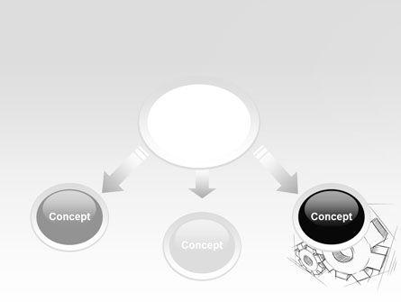 Functioning Gears PowerPoint Template, Slide 4, 07054, Utilities/Industrial — PoweredTemplate.com