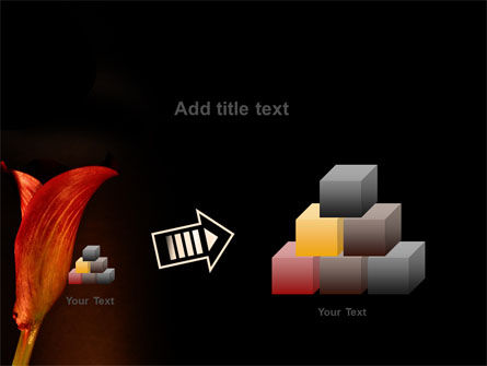 Red Calla PowerPoint Template Slide 13