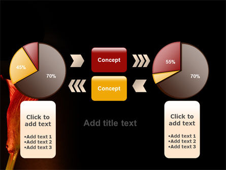 Red Calla PowerPoint Template Slide 16