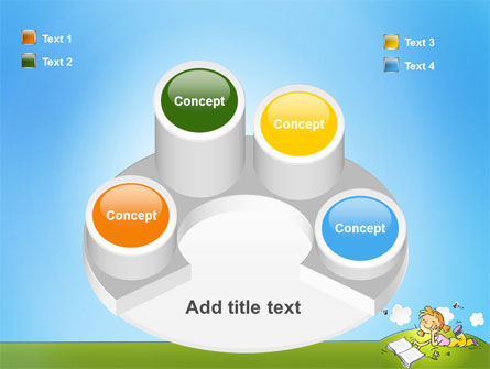 Carefree Child PowerPoint Template Slide 12