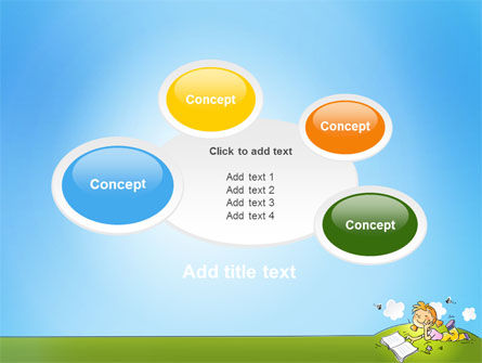 Carefree Child PowerPoint Template Slide 16