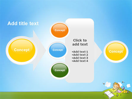 Carefree Child PowerPoint Template Slide 17