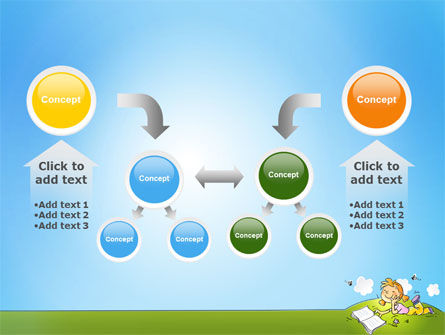 Carefree Child PowerPoint Template Slide 19