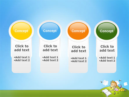 Carefree Child PowerPoint Template Slide 5