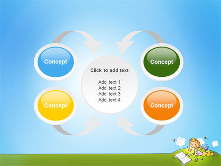 Carefree Child PowerPoint Template Slide 6