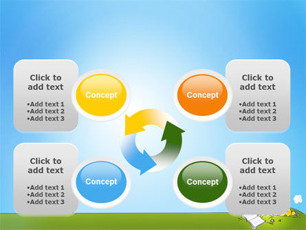 Carefree Child PowerPoint Template Slide 9