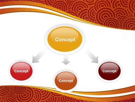 Red Spirals Theme PowerPoint Template Slide 4