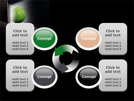 Green Solutions PowerPoint Template Slide 9