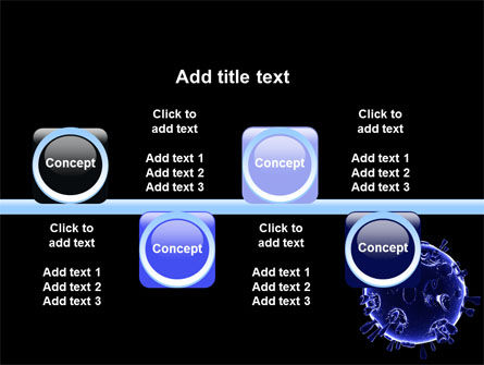Biological Virus PowerPoint Template Slide 19