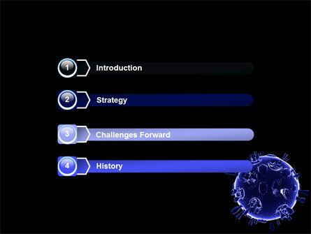 Biological Virus PowerPoint Template, Slide 3, 07065, Medical — PoweredTemplate.com