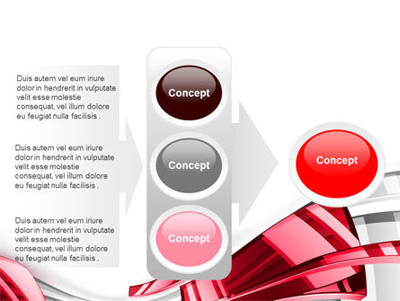 Abstract Shiny PowerPoint Template Slide 11