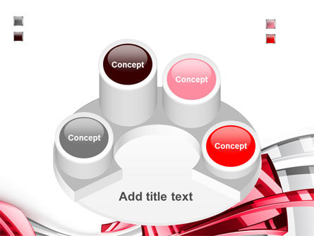 Abstract Shiny PowerPoint Template Slide 12