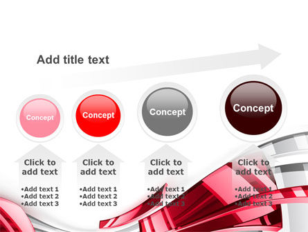 Abstract Shiny PowerPoint Template Slide 13