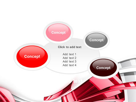 Abstract Shiny PowerPoint Template Slide 16