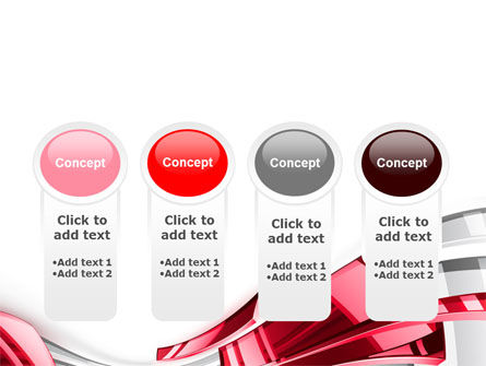 Abstract Shiny PowerPoint Template Slide 5