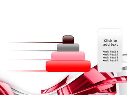 Abstract Shiny PowerPoint Template Slide 8
