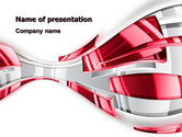 Abstract Shiny PowerPoint Template#1