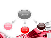 Abstract Shiny PowerPoint Template#4