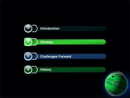 Football Planet PowerPoint Template, Slide 3, 07068, Sports — PoweredTemplate.com