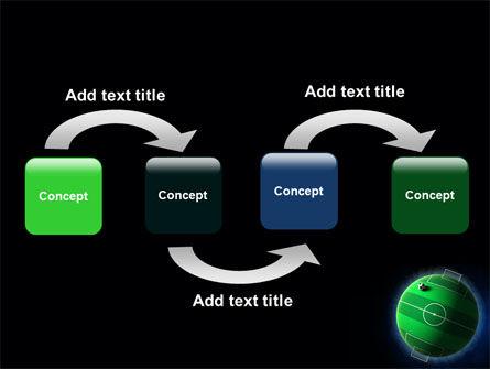 Football Planet PowerPoint Template, Slide 4, 07068, Sports — PoweredTemplate.com