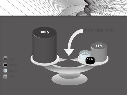 Abstract Tunnel Turn PowerPoint Template Slide 10