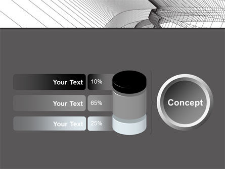 Abstract Tunnel Turn PowerPoint Template Slide 11