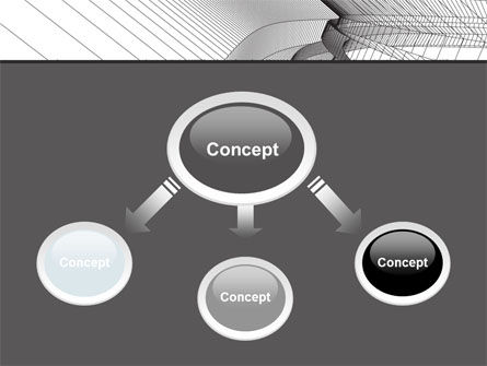 Abstract Tunnel Turn PowerPoint Template Slide 4