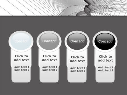 Abstract Tunnel Turn PowerPoint Template Slide 5