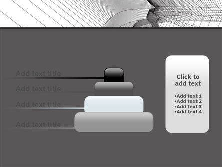 Abstract Tunnel Turn PowerPoint Template Slide 8