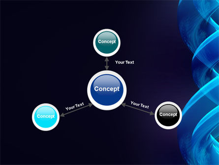 Blue Helix PowerPoint Template Slide 14