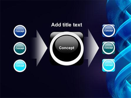 Blue Helix PowerPoint Template Slide 17