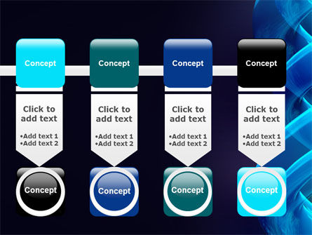Blue Helix PowerPoint Template Slide 18