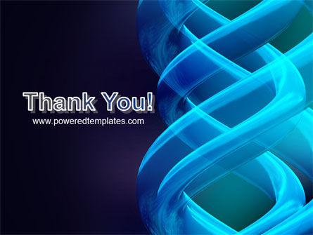 Blue Helix PowerPoint Template Slide 20