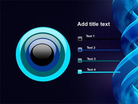 Blue Helix PowerPoint Template Slide 9