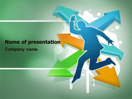 Consulting: Modèle PowerPoint de faire le choix #07075