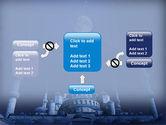 Mosque In Moonlight PowerPoint Template#13