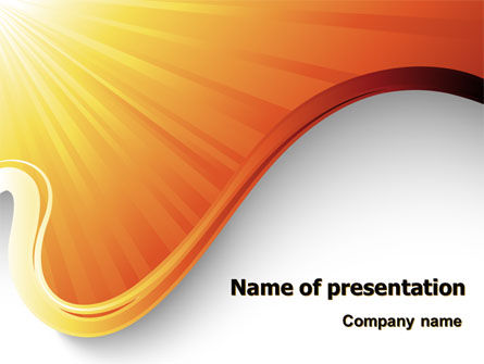 Sun Light Theme PowerPoint Template
