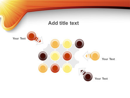 Sun Light Theme PowerPoint Template Slide 10