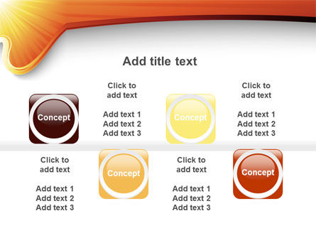 Sun Light Theme PowerPoint Template Slide 18