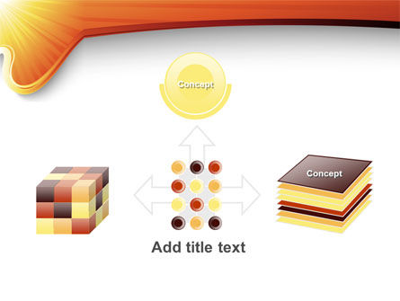 Sun Light Theme PowerPoint Template Slide 19