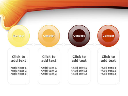 Sun Light Theme PowerPoint Template Slide 5