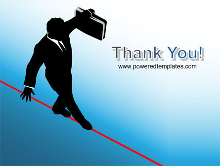 Rope Walker PowerPoint Template Slide 20