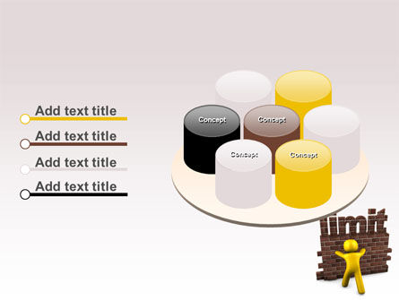 Limit PowerPoint Template Slide 12