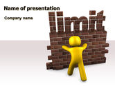 Business Concepts: Limit PowerPoint Template #07079