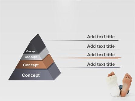 Foot Plaster PowerPoint Template Slide 12