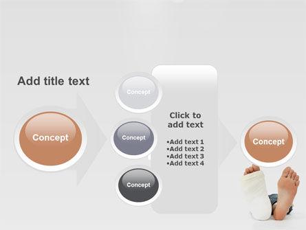 Foot Plaster PowerPoint Template Slide 17