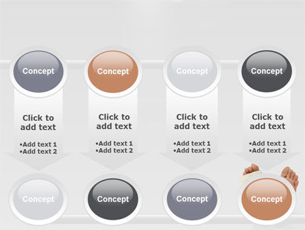 Foot Plaster PowerPoint Template Slide 18